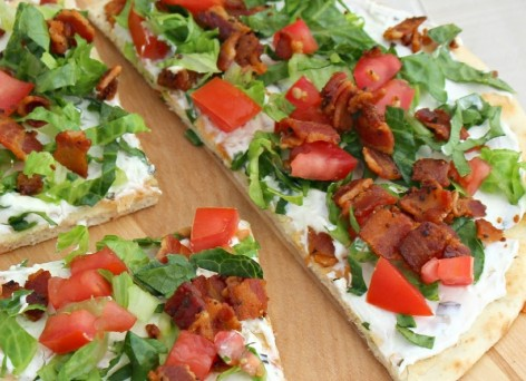 BLT Naan Pizza by Curry and Comfort - Header